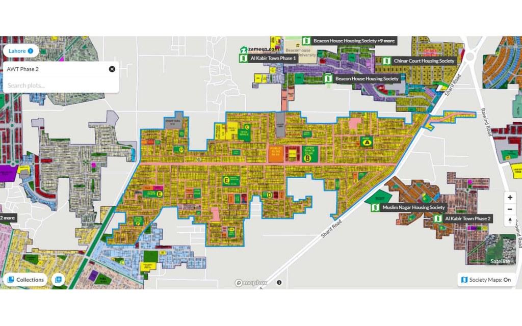 AWT Housing Scheme Phase 2 near Raiwind Road