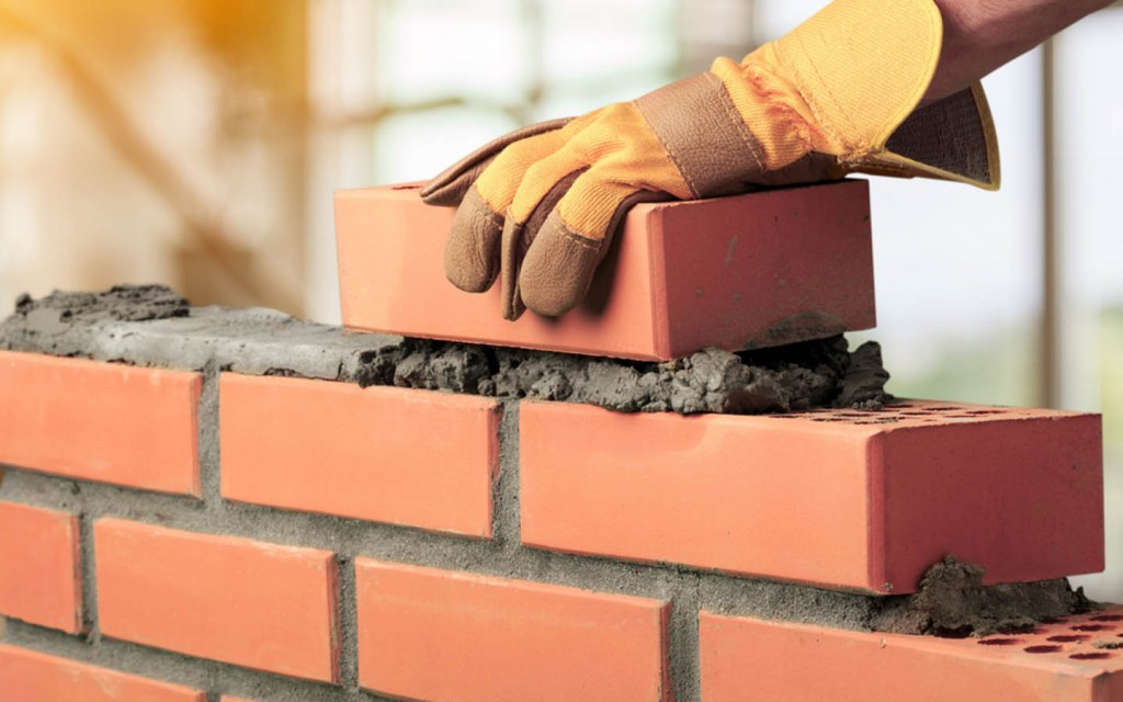 bricks are used in the construction of a 10 marla house in Pakistan