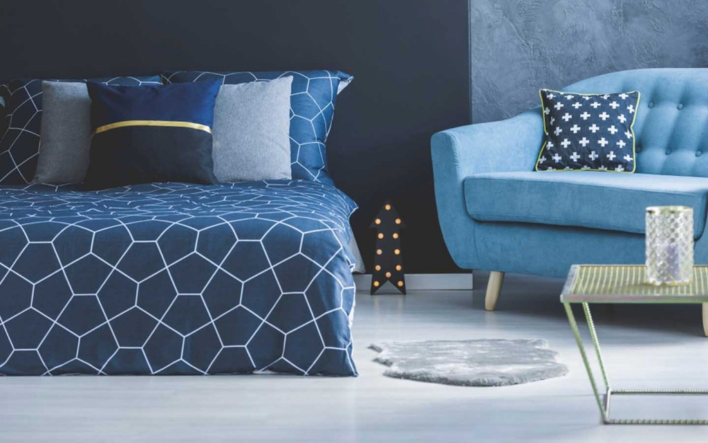 Add a sofa to your bedroom decor