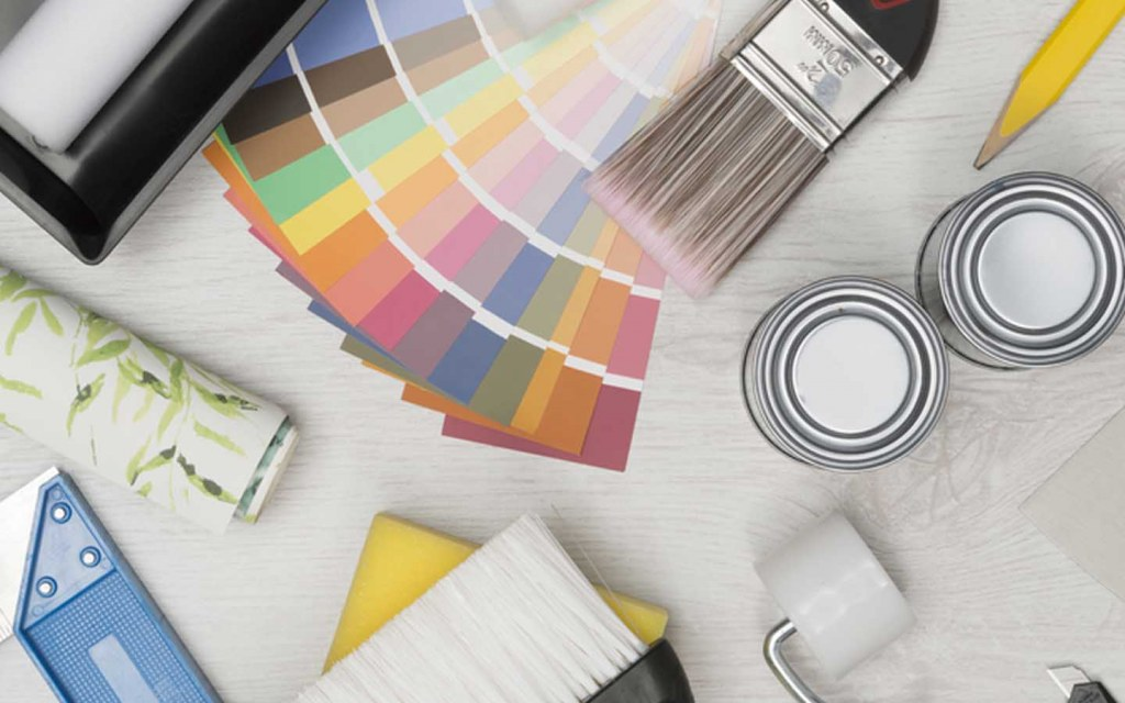 Material required for painting the interior of your home