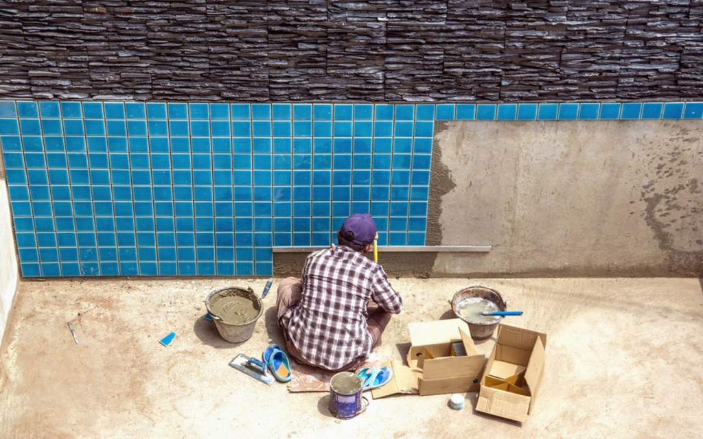 Hire landscapers rather than pool builders