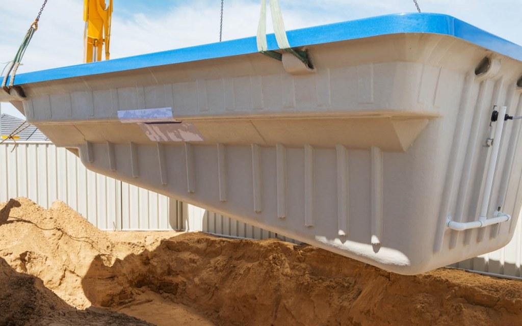 Choose fibreglass pools over concrete