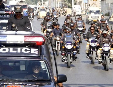 Police force ranks in Pakistan