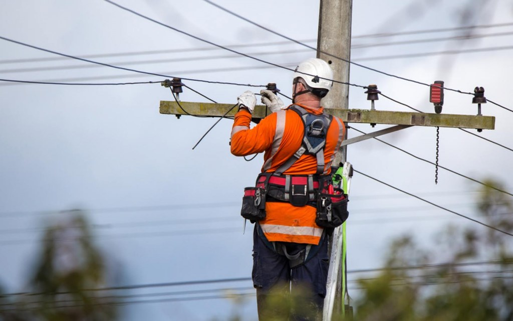 faster services near power lines