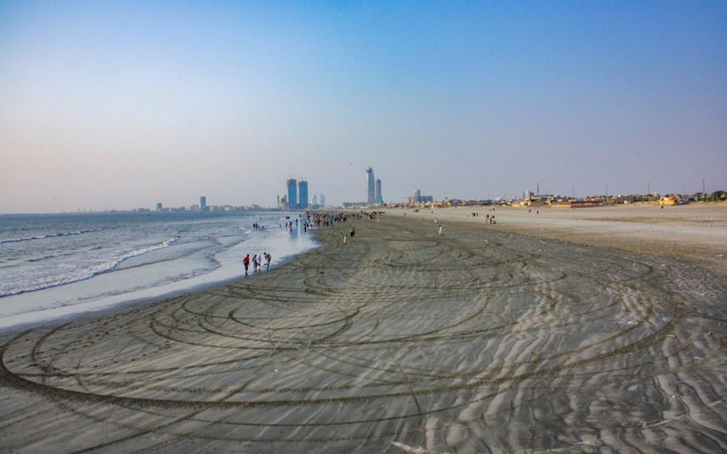 Location of Sea View in Karachi
