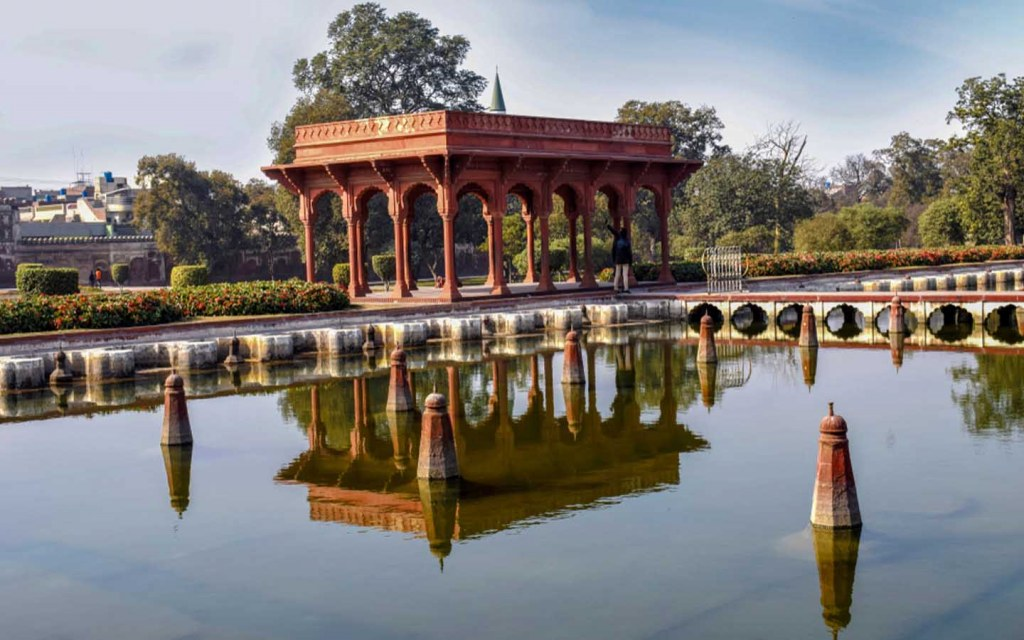 Shalimar Gardens Lahore architecture