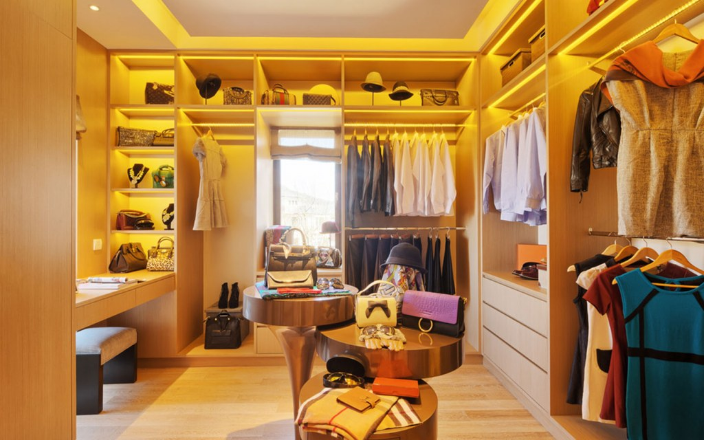 Open closets are a style statement