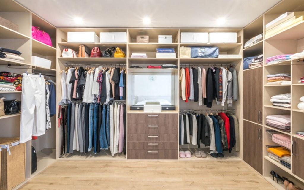 Stylish Wardrobes require a range of storage options