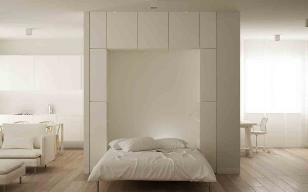 Murphy Beds are perfect for studio apartments
