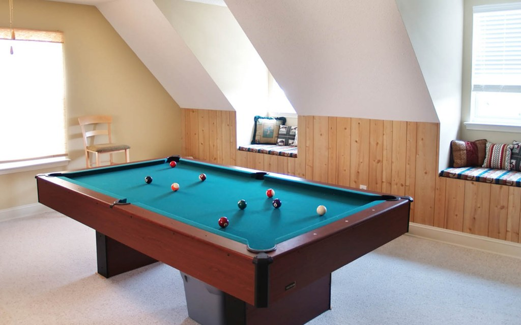Games room or activity area