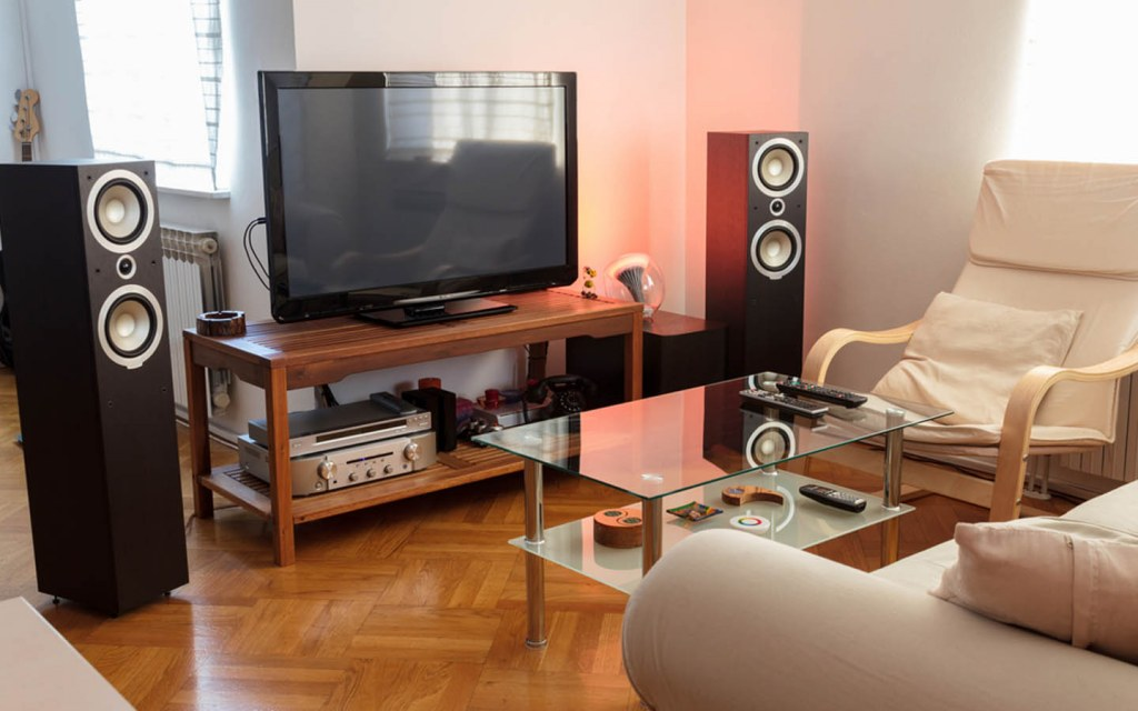 turn spare room into Home Theatre or Media Room