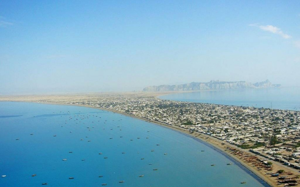 overview of marine drive in gwadar