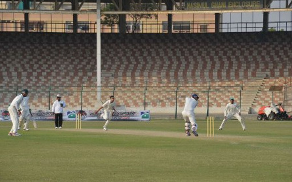 The stadium has hosted both domestic and international cricket tournaments
