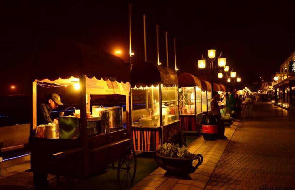 port grand serves best food street in karachi