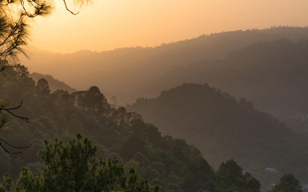 ayubia national park stretches around 33 square kilometres