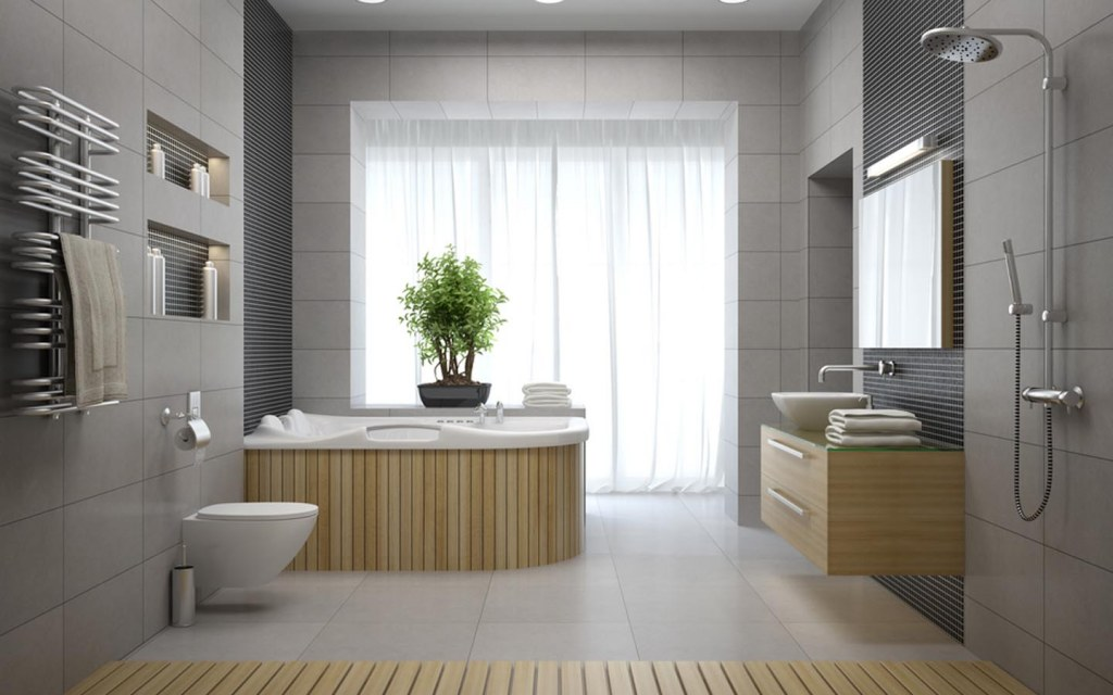 exhaust fan system depends upon how big your bathroom is