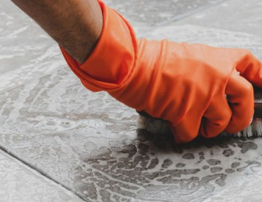 how to remove cement stains from tiles