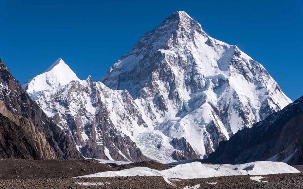 k2 mountain peak in pakistan