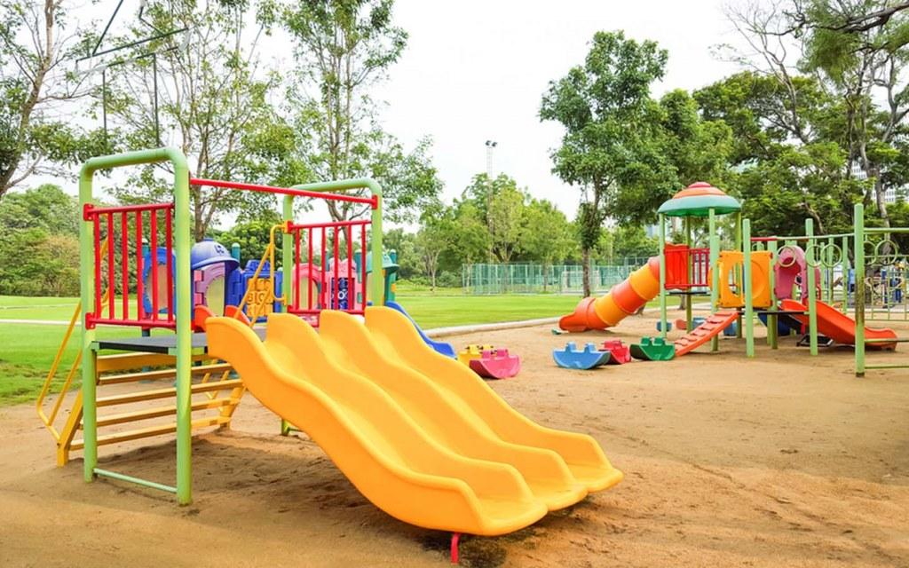 Area Park in Housing Community