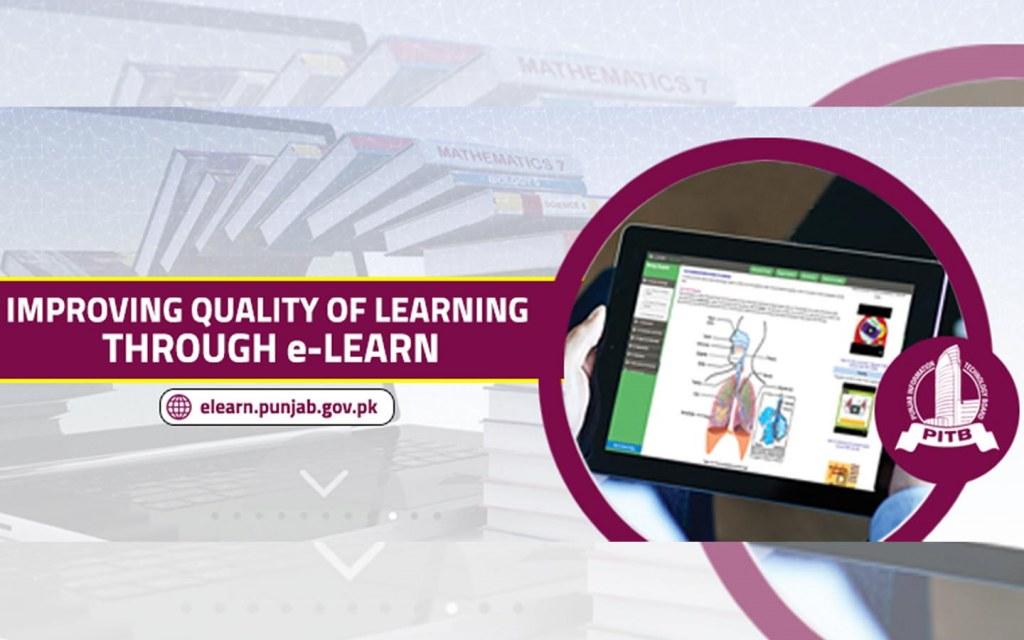 eLearn.Punjab for online education