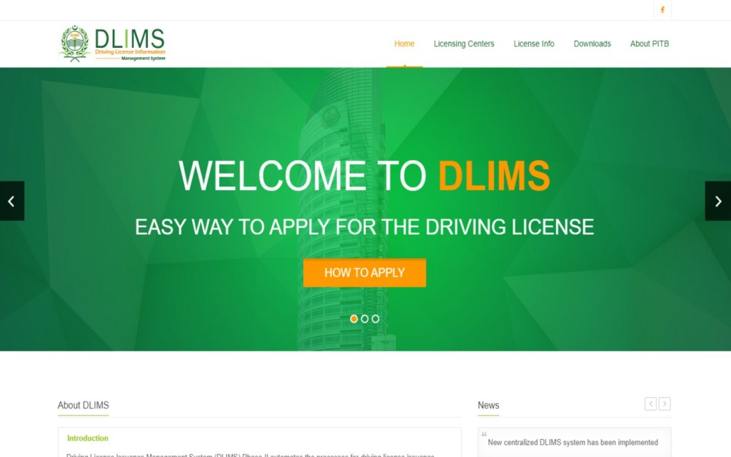 Official Website of DLIMS