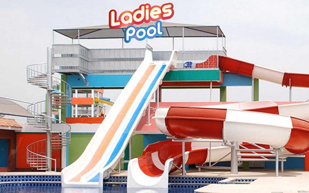 Ladies' Pool at Sunway Lagoon, Karachi