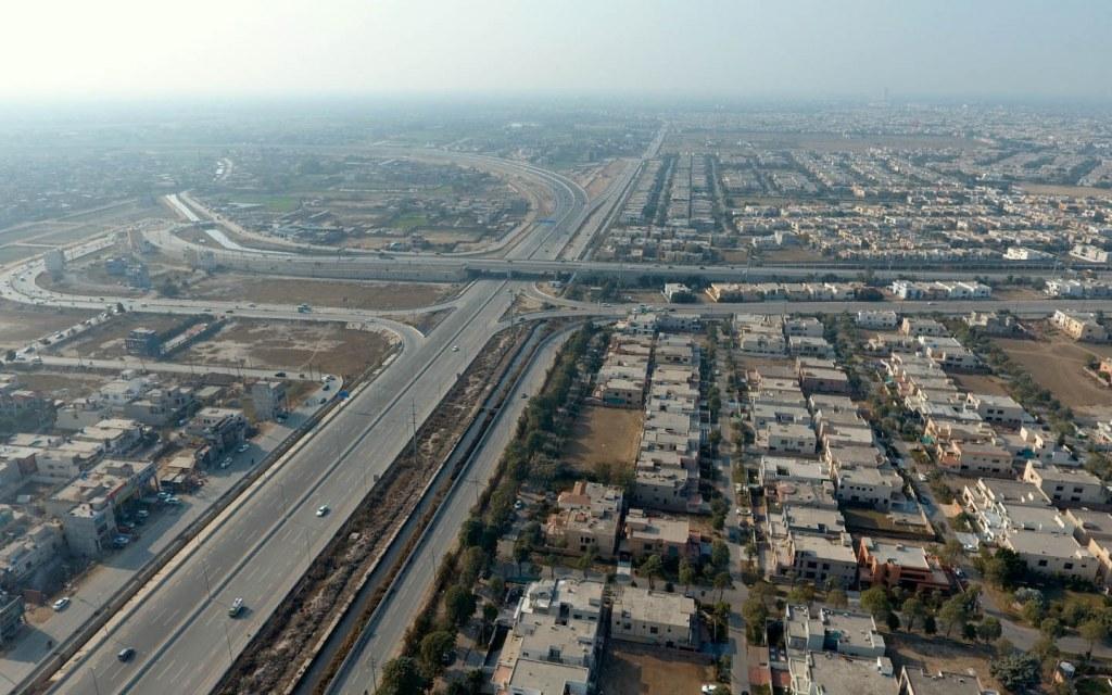 Lahore aerial view