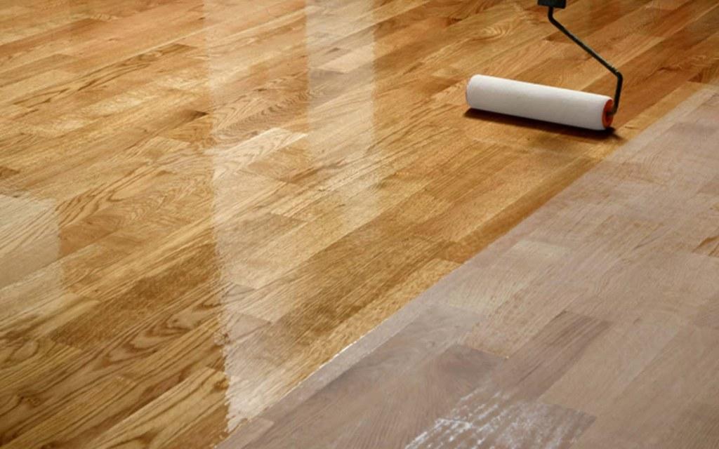 use a sealer for the hardwood floor refinishing