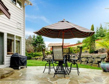 weatherproofing a deck patio or walkway