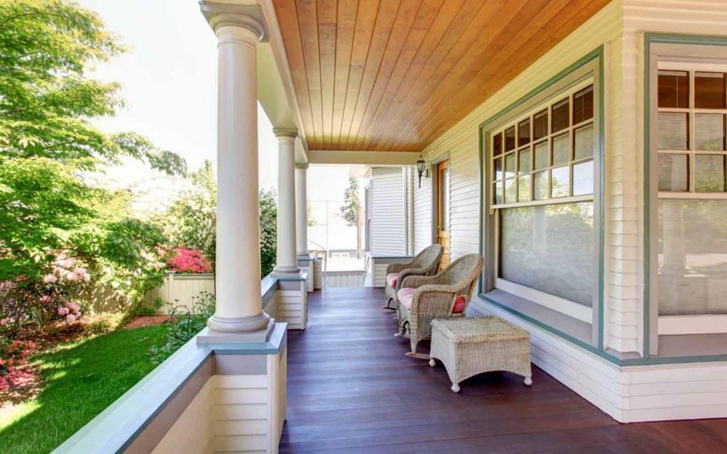 Porch vs Veranda