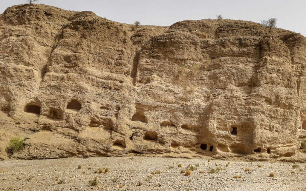 Gondrani is an ancient cave city in Balochistan