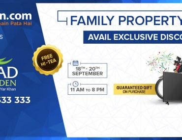 Family Property Gala at Etihad Garden in Rahim Yar Khan