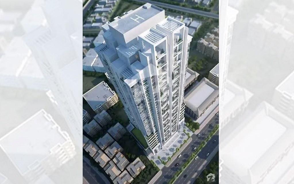 hsj icon is tallest apartment building in karachi