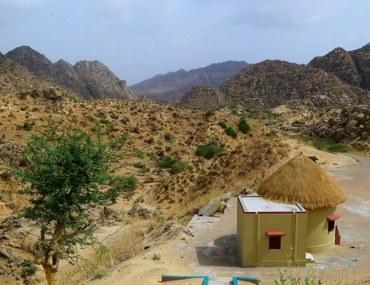 Karoonjhar mountains in tharparkar, Sindh