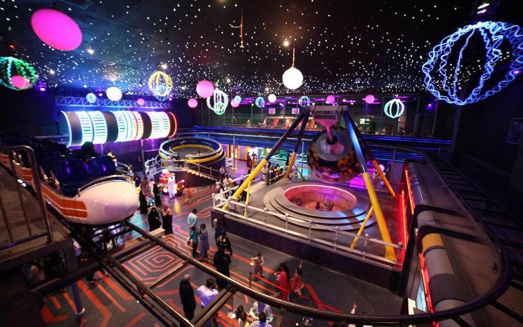 Major Attractions of Super Space, Karachi