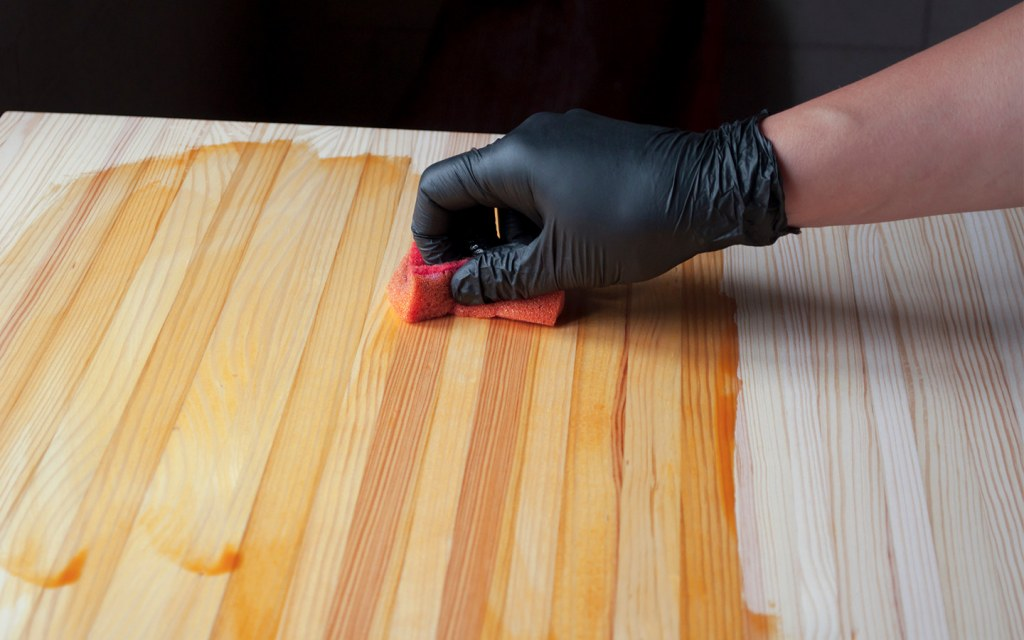 Applying Wood Stain