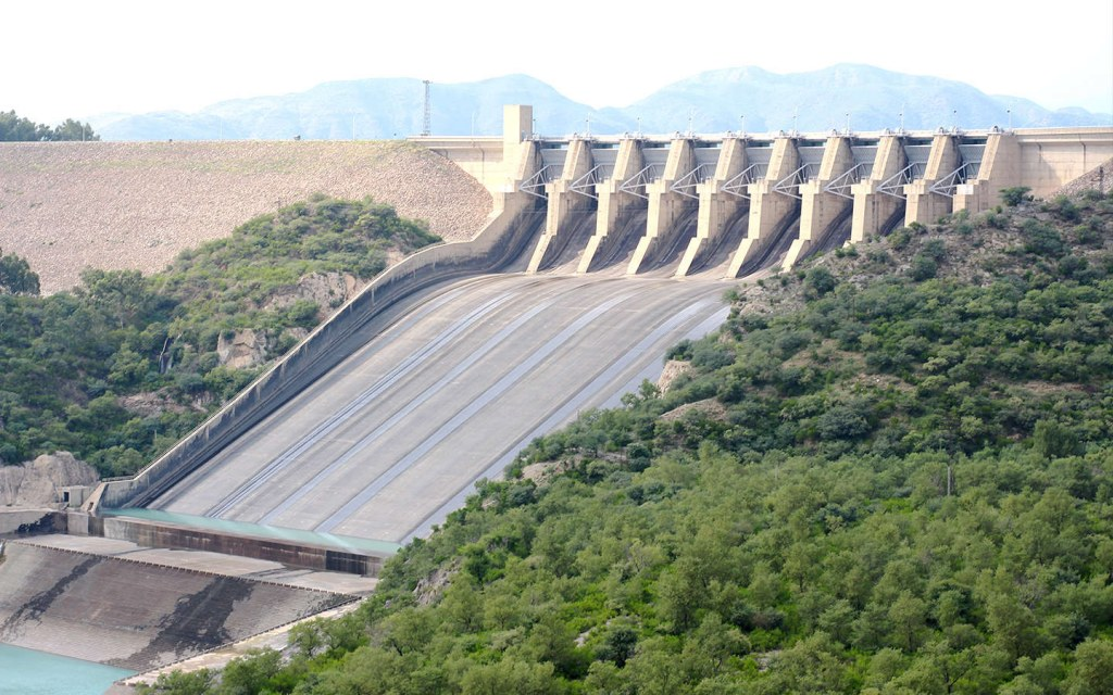 learn more about Tarbela Dam, the largest man-made reservoir in Pakistan