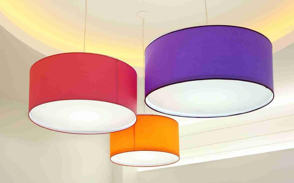 Colourful Light Fixtures