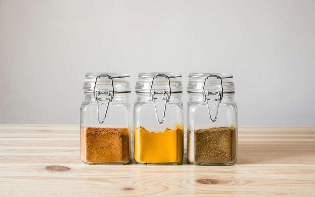 kitchen countertop storage ideas for spices