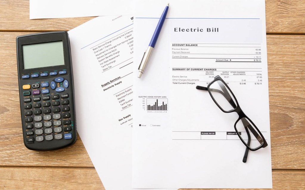 expect higher utility bills