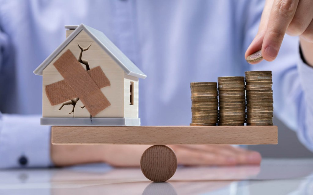 if the house wasn't built up to the mark then it amounts to more money