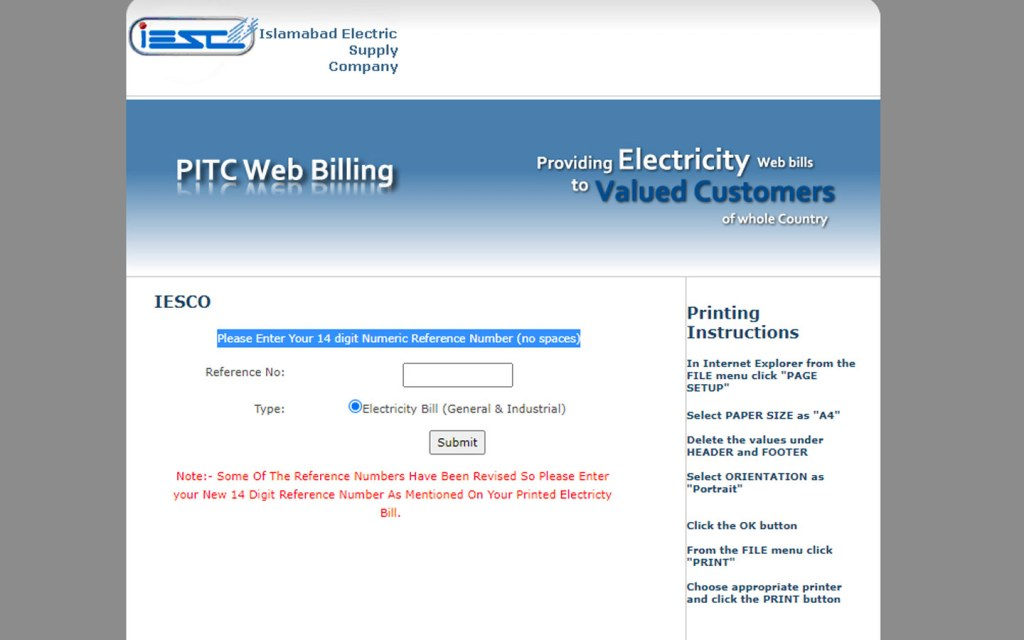How to Check Your IESCO Bill Online