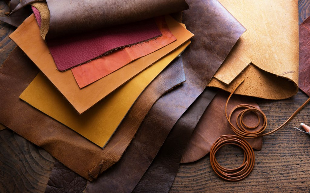 Different types of leather for furniture