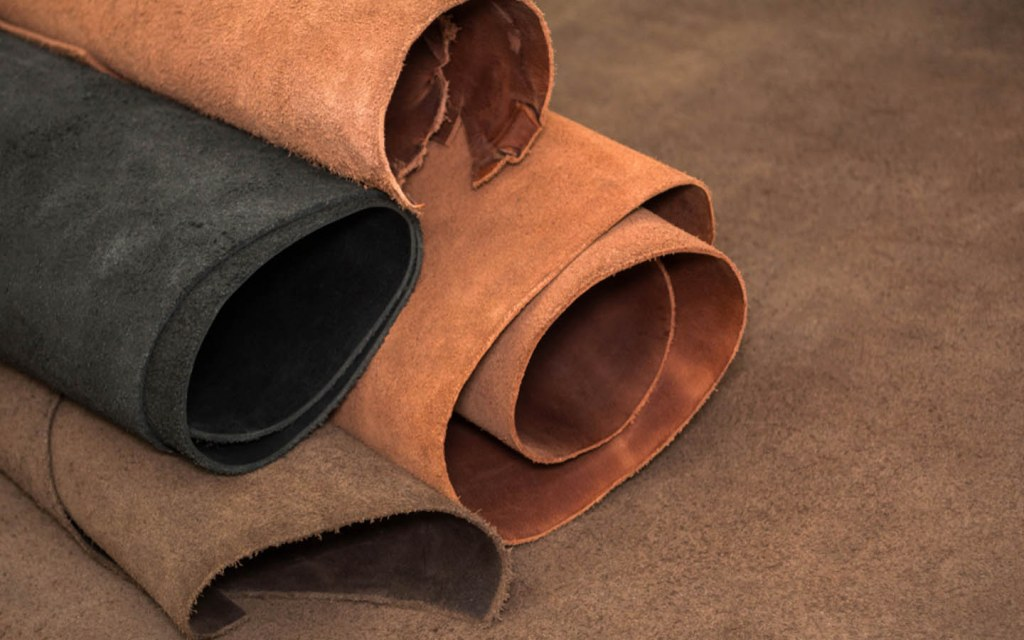 Different kinds of leather treatments