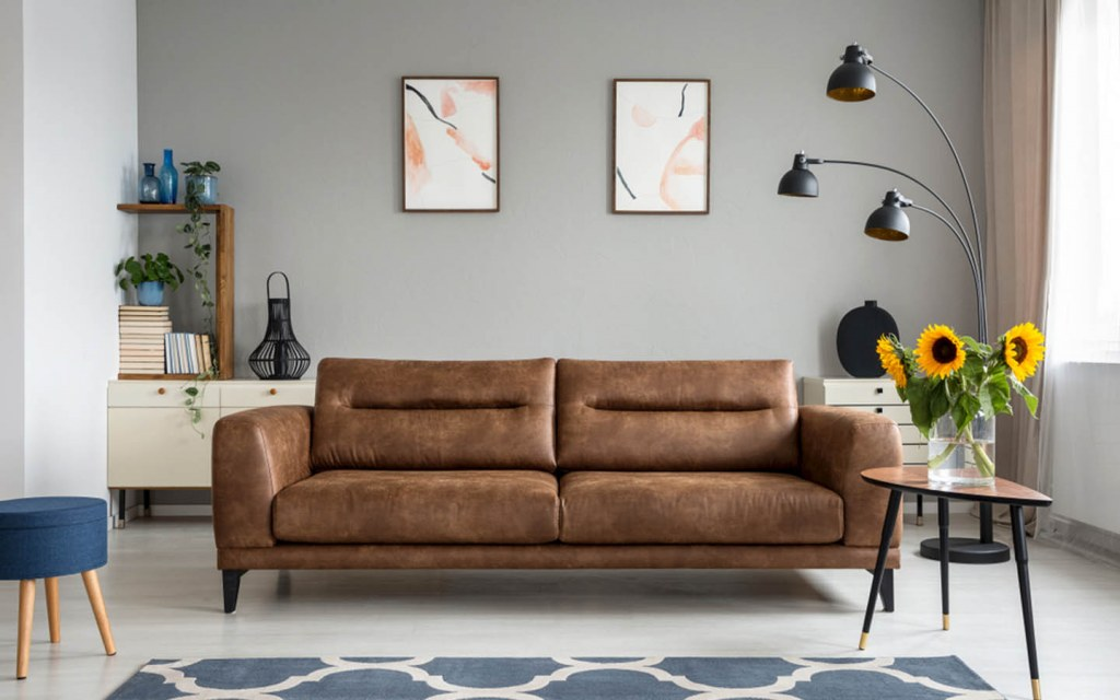 Contemporary Leather Sofa Style