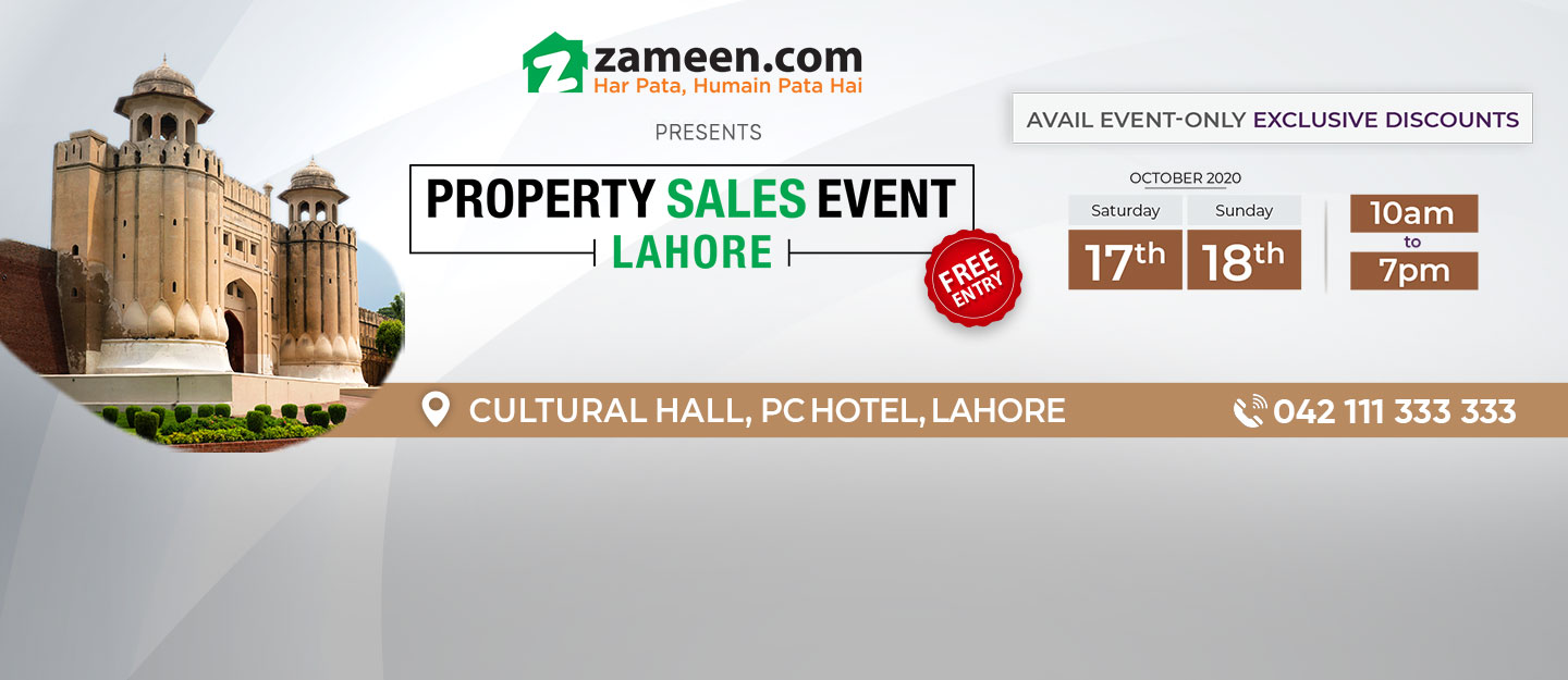 Property Sales Event in Lahore