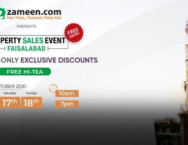Property Sales Event Faisalabad