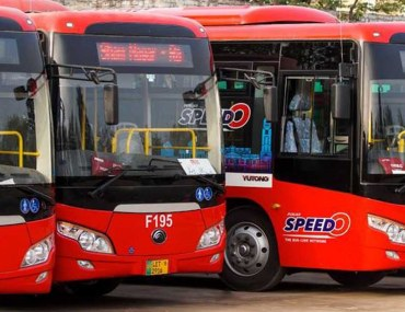 Speedo Bus Routes in Lahore, Pakistan