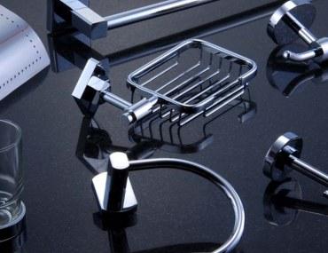 types of bathroom accessories