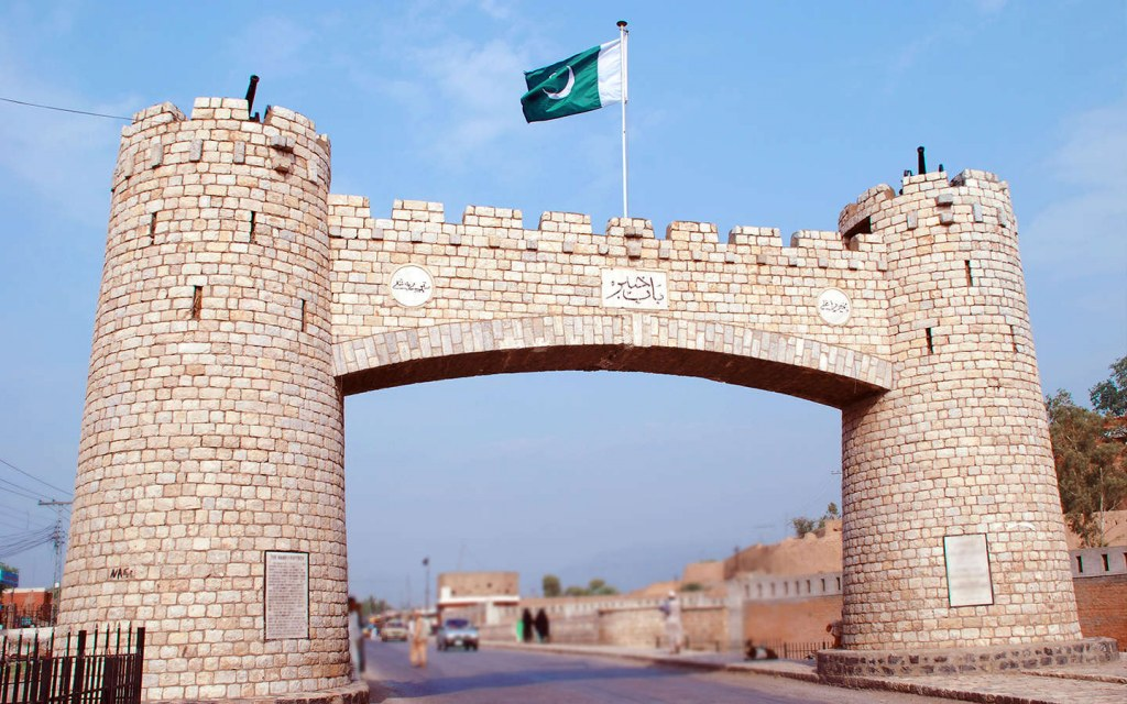 the Khyber Pass is a historic place in KP